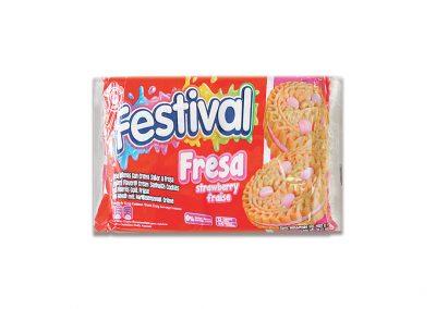 Galleta Festival Fresa