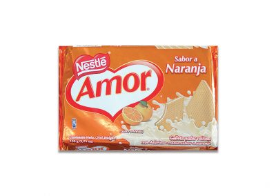 Wafer Amor Naranja