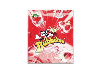 Chiclets Bubbaloo Fresa