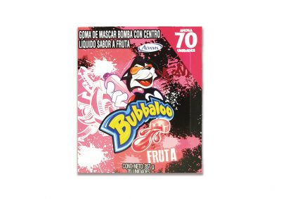 Chiclets Bubbaloo Fruta