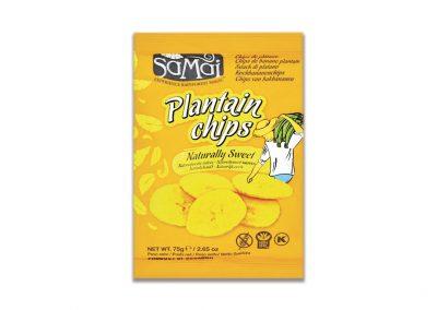 Snack de Plátano Dulce