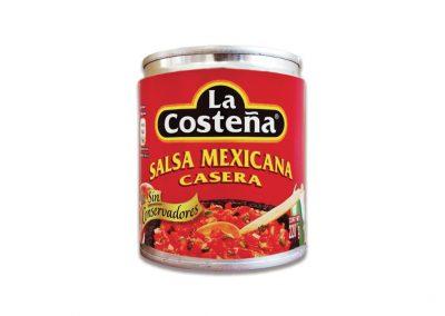 Salsa Mexicana Casera