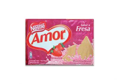 Wafer Amor Fresa