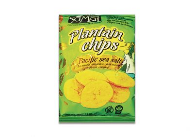 Snack de Plátano Salado