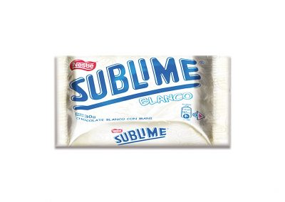 Chocolate Sublime Blanco